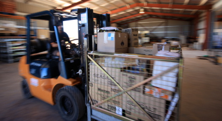 EFS Warehouse Forklift